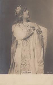 Ernst Kraus German Tenor as Lohergrin Antique Postcard
