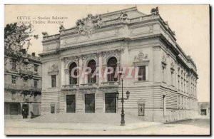 Sete - This - Bathing Resort - Grand Theater Municipal - Louise 1911 - Old Po...