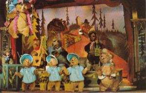 The Country Bear Jamboree Walt Disney World Orlando Florida 1981