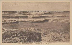 New Jersey Asbury Park The Restless Sea Albertype
