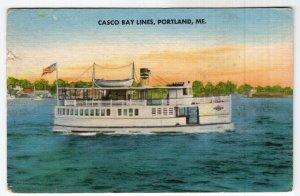 Portland, Me, Casco Bay Lines