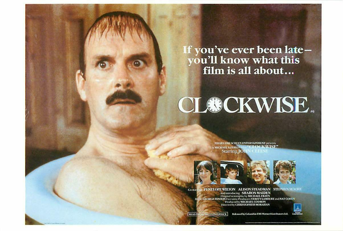 Postcard of Clockwise John Cleese Movie / HipPostcard