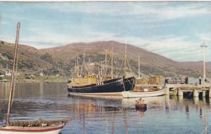 The Pier, Sail Boats, Fishing Boats, ULLAPOOL, Ross-Shire, United Kingdom, 40...