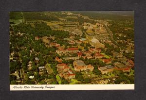 FL Florida State Univ University Tallahassee Postcard FSU Aerial View