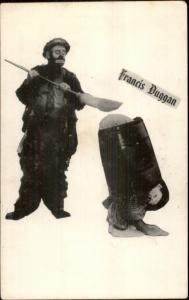Clowns - Comedy Duo Francis Duggan - Card - Non-Postcard