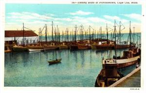 Massachusetts  Provincetown   Fishing Boats  moored