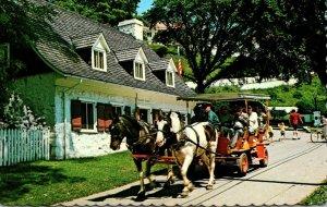 Michigan Mackinac Island Horse and Carriage