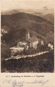 RP: W.S.C. Wachenburg bei Weinheim a.d. Bergstrasse , Germany , 1930-40s