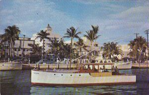 Charter Boats, Fort Lauderdale, Florida, 40-60s