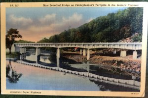Pennsylvania's Turnpike in Bedford Narrows, Most Beautiful Bridge