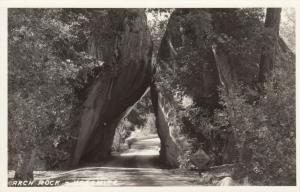 RP: YOSEMITE National Park , California , 1930-40s ; Arch Rock, version 2