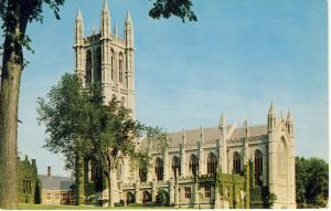 Beautiful Hartford, Conn/CT Postcard, Trinity College Chapel