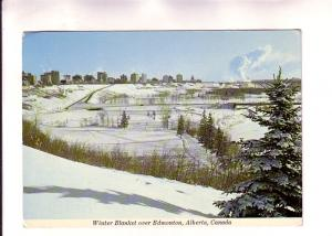 Winter Blanket of Snow over Edmonton, Alberta, Photo Sutton