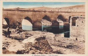 Kasba Tadla (قصبة تادلة) , Morocco , 1910s ; Pont Portugais