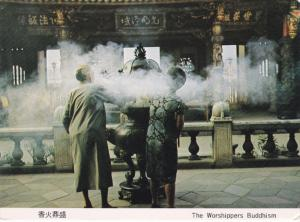 TAIWAN, 1950-1970's; The Worshippers Buddhism