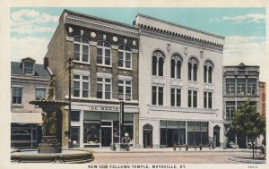 MAYSVILLE , Kentucky , 1910s ; New Odd Fellows Temple