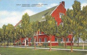 Jamestown  College North Dakota~Dutch Gable~Girl's Dormitory~Linen 1940s