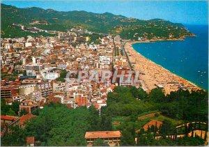 Postcard Modern Lloret de Mar, Costa Brava Panoramica