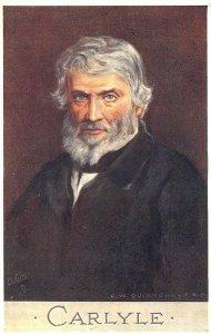 Carlyle Raphael Tuck Men of Letters #2698 Postcard
