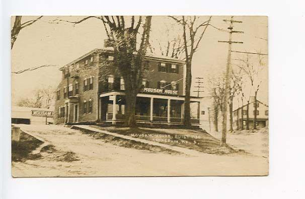 Kennebunk ME Mousam House 1750 RPPC Postcard