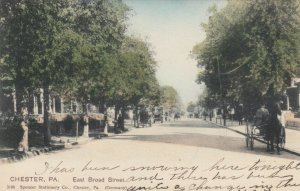 CHESTER , Pennsylvania , 1906 ; East Broad Street