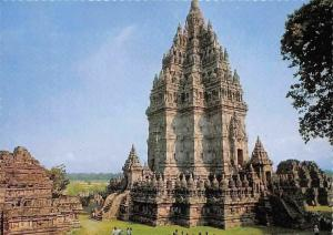 Indonesia Tempel The Prambanan Temple near Jogjakarta