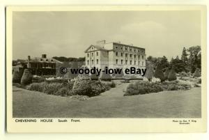 tp8146 - Kent - The South Front of Chevening House and Gardens - Postcard