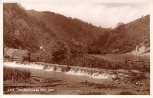 England Dovedale The Entrance to Dove Dale, Peak District, Real Photograph