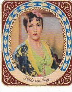 Garbaty Cigarette Card 1934 Modern Beauties No 1 Kathe von Nagy