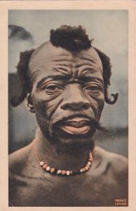 Portrait d'un homme de la foret (Cameroun) 00-10s
