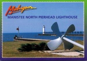 Michigan Manistee North Pierhead Lighthouse