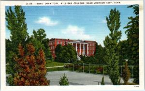 JOHNSON CITY, Tennessee  TN   Boys' Dormitory MILLIGAN COLLEGE  c1940s  Postcard