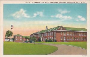 Elizabeth City State Teachers College Elizabeth City North Carolina