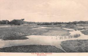 The Pitch Lake, Trinidad, British West Indies, Early Postcard, Unused