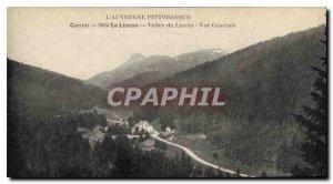 Postcard Old Picturesque Cantal Auvergne The Lioran Lioran Valley Vue Generale