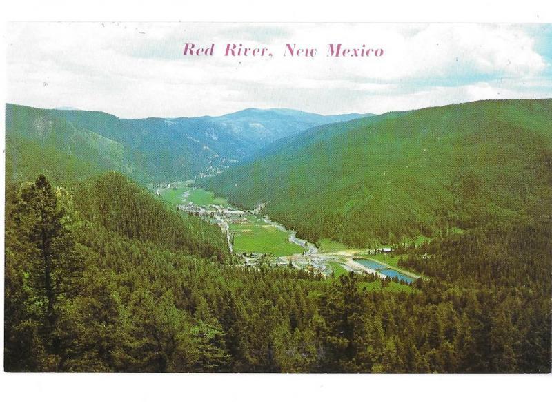 Red River New Mexico Ski Area Sangre de Cristo Mountains