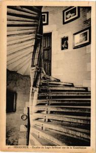 CPA PÉRIGUEUX-Escalier du Logis St-Front eur de la Constitution (233585)