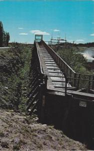 Fish Ladder, Northern Canada Power Commision Dam , Y.T. , Canada , 40-60s
