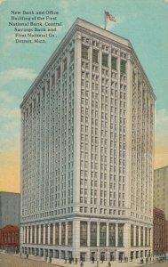 DETROIT , Michigan, 00-10s ; New Bank Building