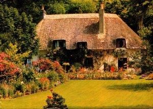England Dorset Milton Abbey Greenwalk Cottage 1987