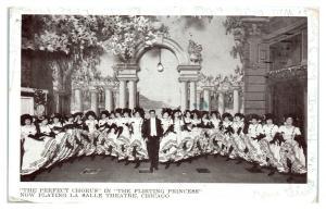 1909 The Flirting Princess, La Salle Theatre, Chicago, IL Postcard *5L6