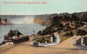 590 Entrance to Victoria Park 1909  Niagara Falls, Canada