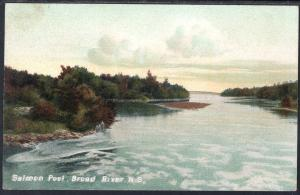 Salmon Pool,Broad River,Nova Scotia,Canada