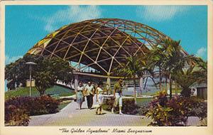 Golden Aquadrome Seaquarium Miami Florida 1963