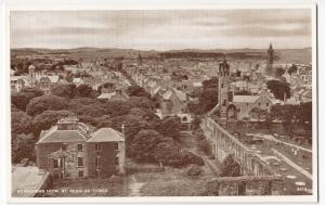 Fife; St Andrews From St  Regulus Tower PPC By JB White, Unposted