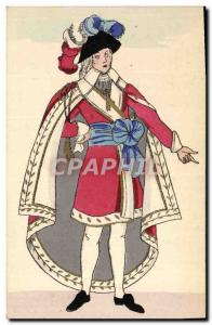 Old Postcard History of Costume French Directoire 1799