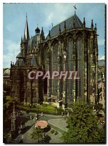 Old Postcard Bad Aachen Dom Cathedral