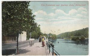 Berkshire; Promenade Over Boulters Locks, Maidenhead PPC 1909, To Nellie Norman