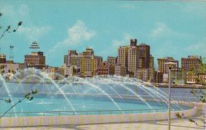 Florida Jacksonville Fountain Of Freindship At Dallas Thomas Park and Marina