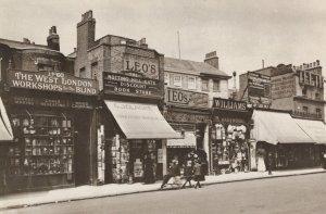 Notting Hill Workshop For The Blind London Shop Postcard